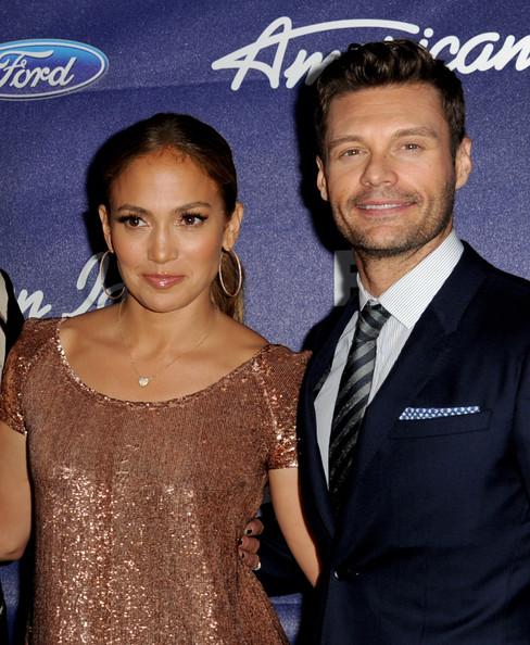 Jennifer Lopez Ryan Seacrest discuss American Idol
