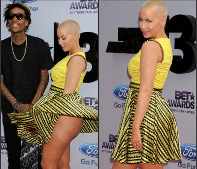Amber Rose among best looks at BET Awards Red Carpet