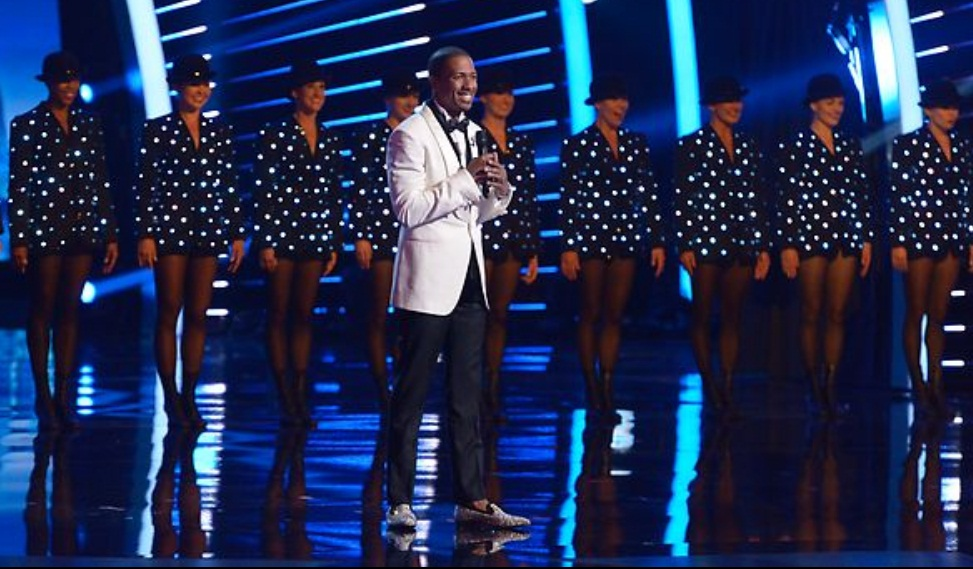 Host Nick Cannon on America's Got Talent Season 8 Finals Week 1
