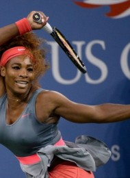 US Open: Serena Williams Defeats Suarez Navarro 6-0, 6-0