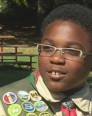 Youngest Ever African-American Eagle Scout Earns Honor at Age 12