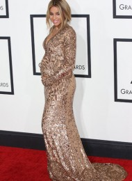 Ciara's Baby Bump, Beyonce's Sheer Gown and Must-See Grammy Red Carpet Moments