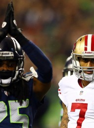 Colin Kaepernick Calls Richard Sherman's Antics 'Ridiculous'