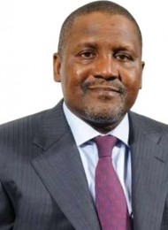 Big Things Popping: Aliko Dangote Meets With Ellen Johnson Sirlea to Discuss Business