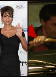 Separated Already? Halle Berry Ditches Wedding Ring, Olivier Martinez Holds On to His