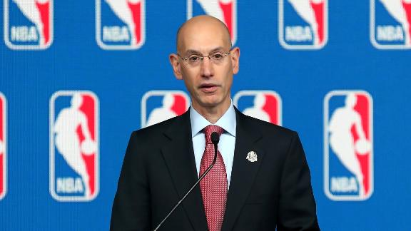NBA commissioner Adam Silver banned Donald Sterling for life.