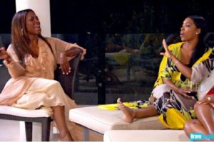 Porsha Williams beats Kenya Moore during RHOA reunion