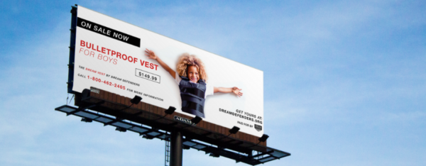 dream defenders vest or vote billboard