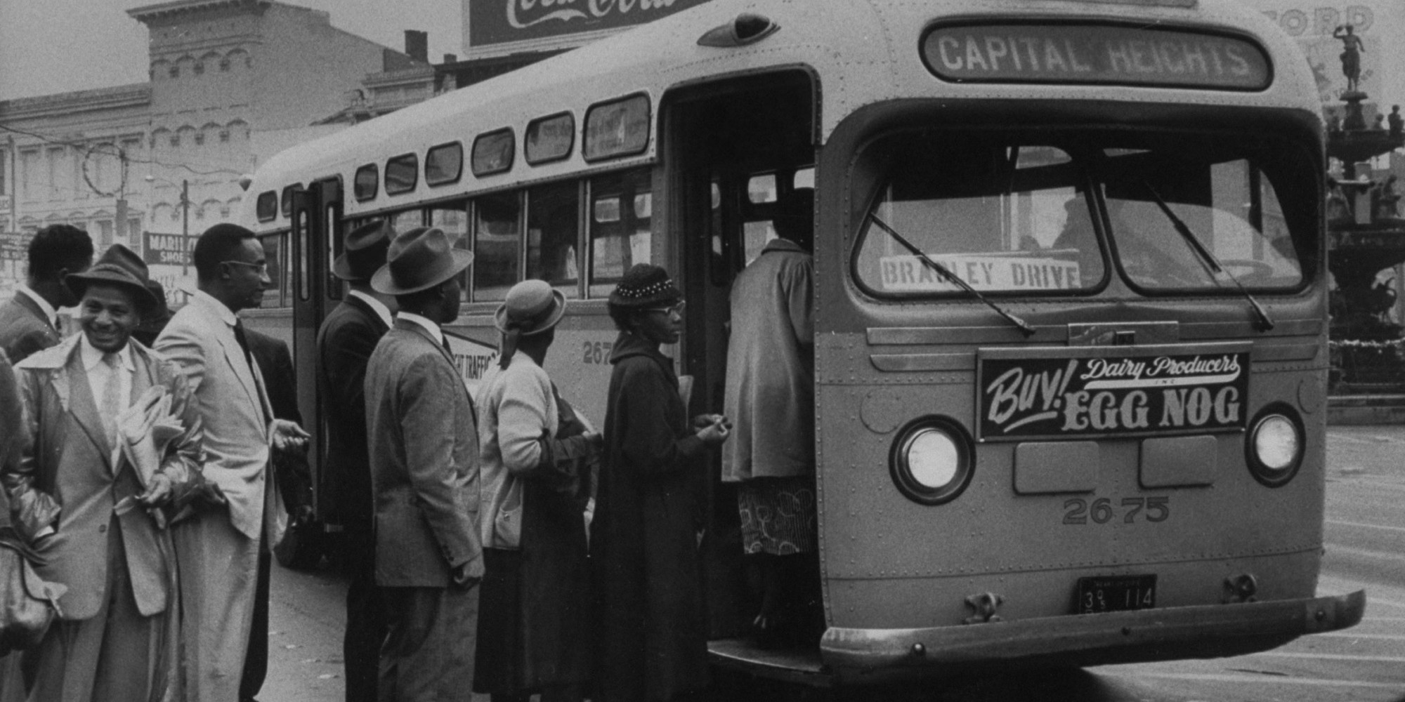 What was behind the Bristol bus boycott?