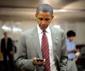 Obama facing Blackberry blackout