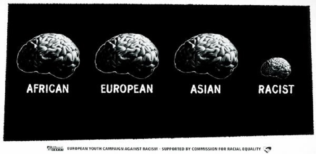 Anti racism brains small 29795