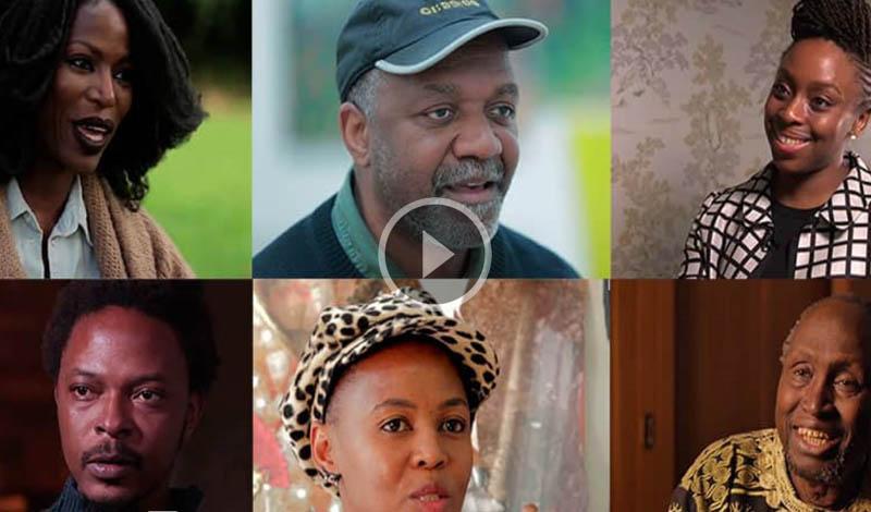 6 artist on Black Identity pb