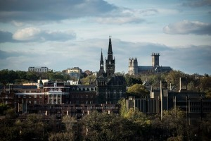 Georgetown University in Washington. Photo by Garbriella Demczuk for the New York Times