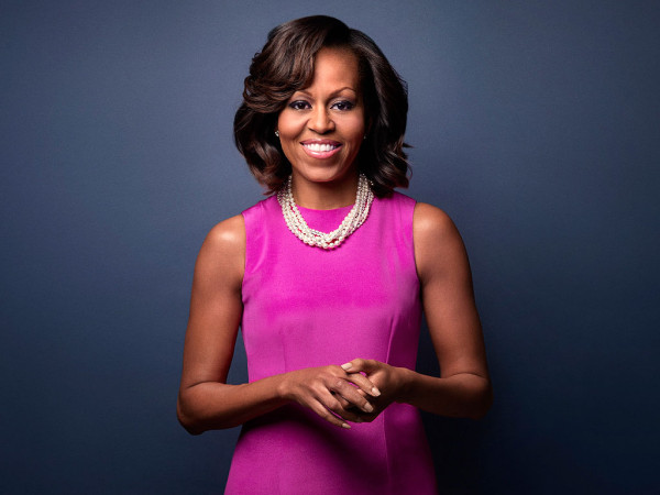 First Lady of the United States Michelle Obama. Photo by Ben Baker/Redux