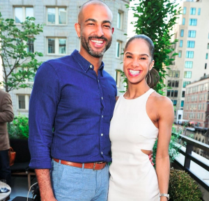 Misty Copeland with Husband Olu Evans Instagram