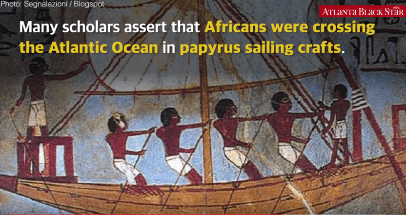 africans before columbus Africans came with columbus to new world by live science staff | march 20, 2009 08:47am et more it was known that columbus had a personal african slave on his.
