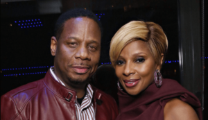 Kendu Issacs and Mary J. Blige (Twitter)