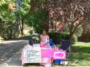 breast cancer bake sale