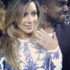 Kanye West proposes to Kim Kardashian