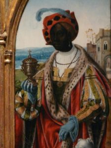 A FLEMISH PAINTING OF THE WISE AFRICAN KING IN THE EUROPEAN RENAISSANCE. PHOTO BY RUNOKO RASHIDI (1)