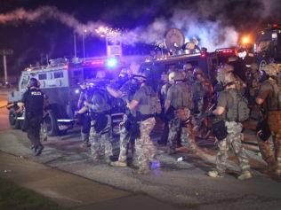 media targeted in Ferguson on fly zones