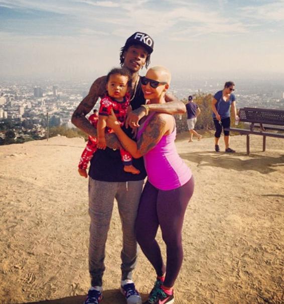 Amber Rose And Wiz Khalifa Baby