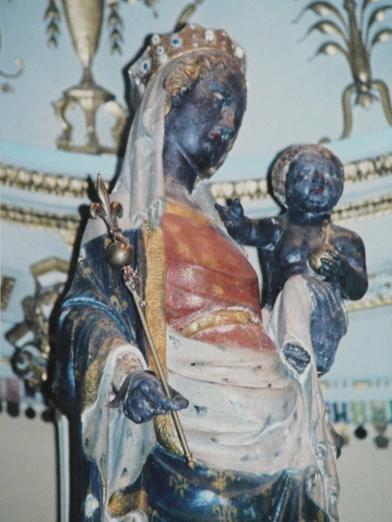 The Black Virgin of Paris. Date unknown.  Photo by Runoko Rashidi