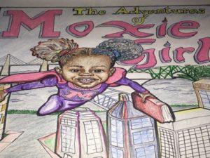 Moxie Girl Comic book