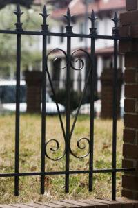 Sankofa symbol in fence, Washington, DC