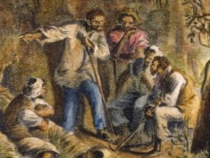 Nat Turner illustration courtesy of History.com