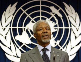 Kofi Annan dead