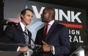 Andrew Gillum, Chris King