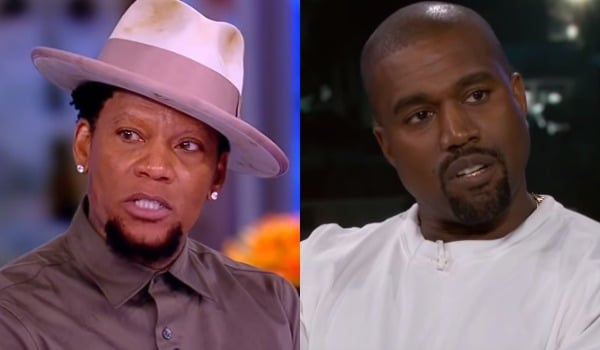 D.L. Hughley Blasts Kanye West Over Slavery Comments