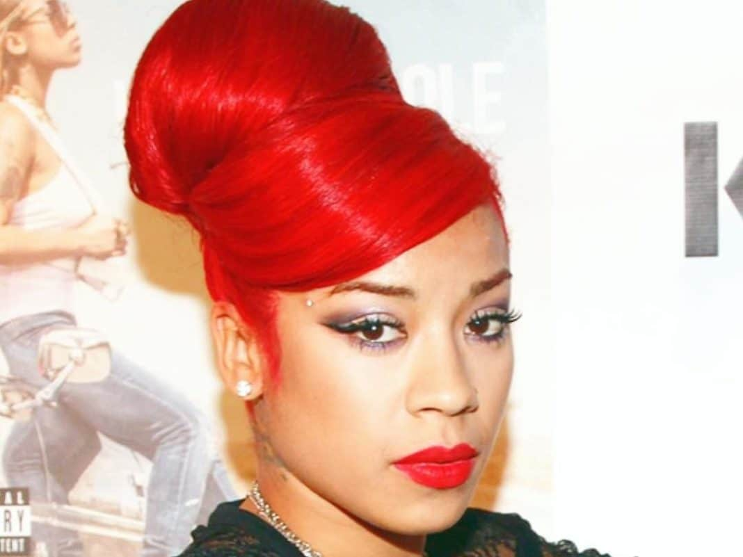 1cae3bdcc59 Keyshia Cole Fans Wowed By Her Red Hair Perfect for the Holiday Season   My  Baby is Lit