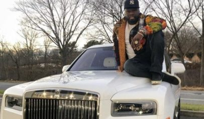 50 Cent brought himself a Rolls Royce and Lamborghini for he holidays.