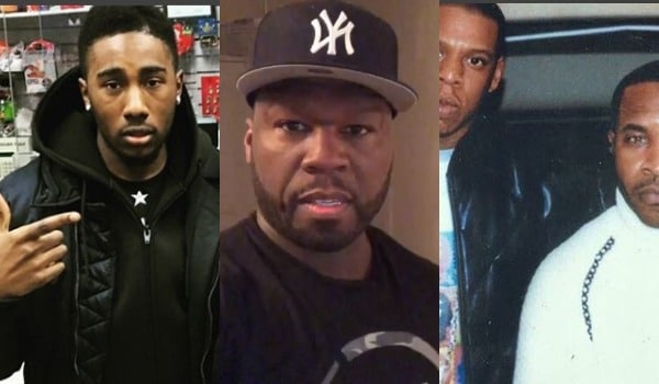 "Kyle McGriff, Kenneth ""Supreme"" McGriff's son, responded to 50 Cent"