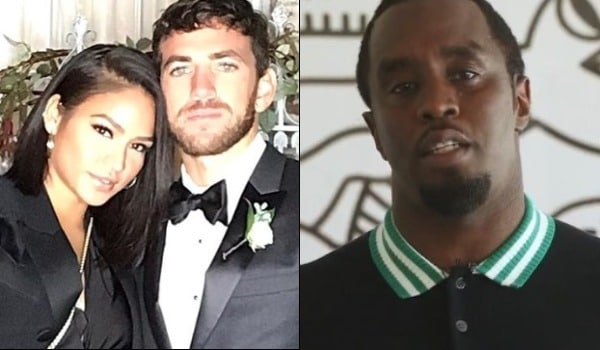 """Sean """"Diddy"""" Combs seemingly responded to a new photo of Cassie and her boyfriend Alex Fine."""