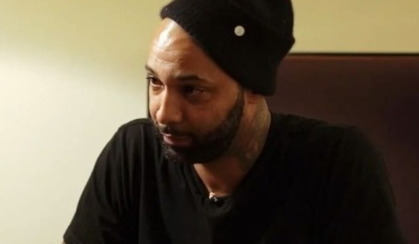 Joe Budden got into a heated argument with a hospital security guard.