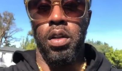 "People think Sean ""Diddy"" Combs is going through something after he reveals scruffy new look."