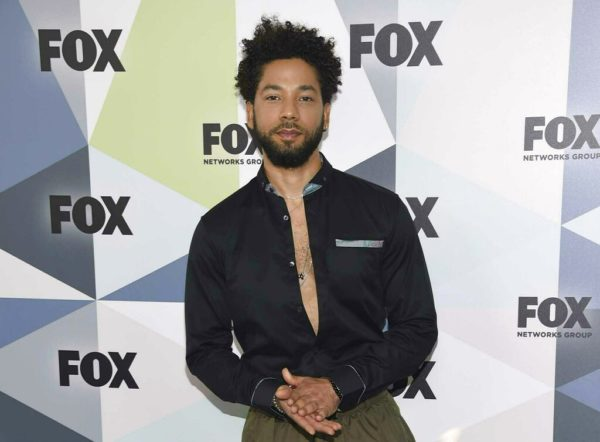 Empire star Jussie Smollett breaks down over attack