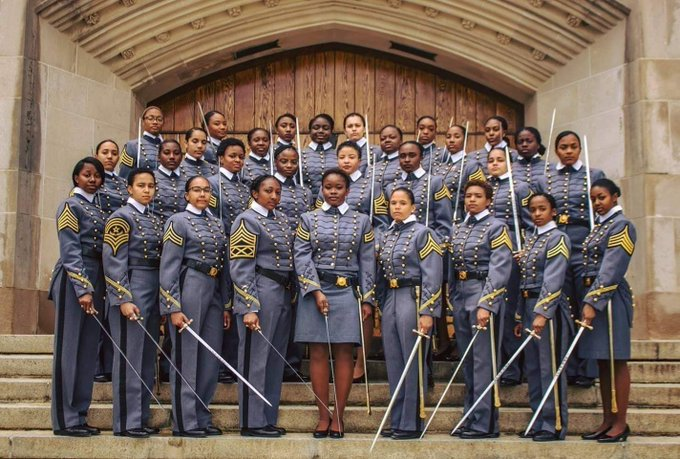 Image result for History In the Making: Groundbreaking 32 Black Female Cadets to Graduate from U.S. Military Academy This Year