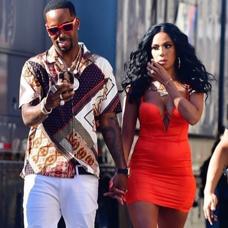 Fans Roast Erica Mena's 'Baby Deer Legs' During 'Awkward' Photo Shoot With Safaree