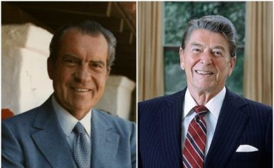 Nixon and Reagan