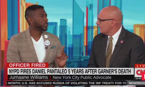 Jumaane Williams and James Gagliano