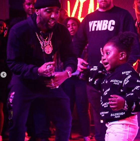 That's Reginae': YFN Lucci Brings Girl Onstage, and Fans