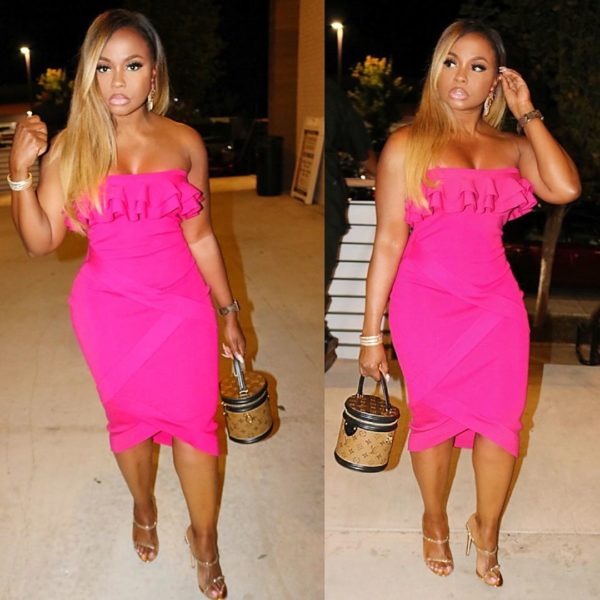 'Looking Like a Whole Meal': Phaedra Parks Slays in Hot Pink Dress