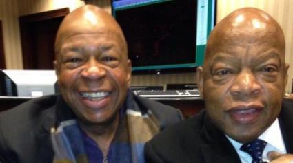 Elijah Cummings and John Lewis