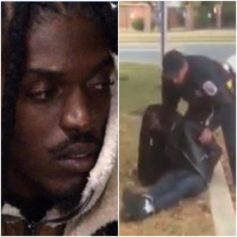 Footage of unarmed Black man arrested