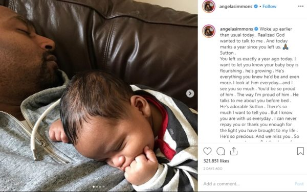 JoJo Simmons Talks Being a Father Figure to Nephew as Angela Simmons Remembers Son's Father on Anniversary of His Death