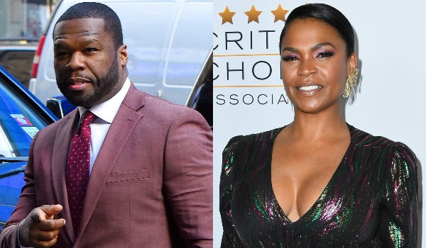 'I Like This': 50 Cent Lusts After Nia Long, and People Are Here for It